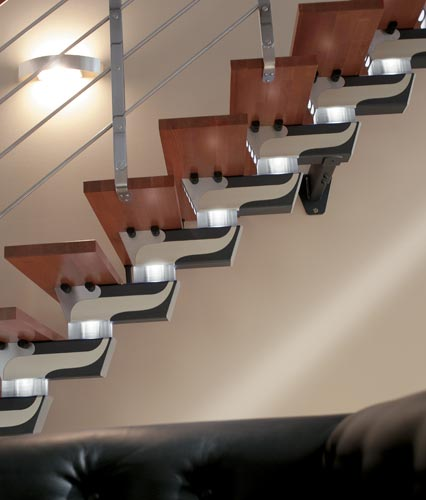 Rintal Stair System™ Knock Design della Rintal